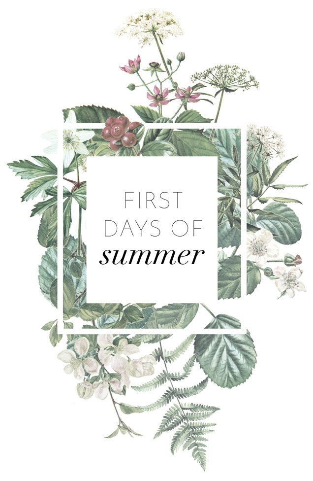 First Days of Summer